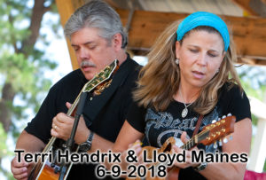 2018, 06.09 Terri Hendrix and Lloyd Maines